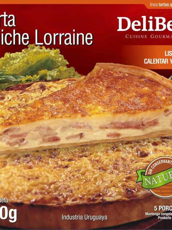 Quiche Lorraine  Tarta Francesa de Queso y Panceta