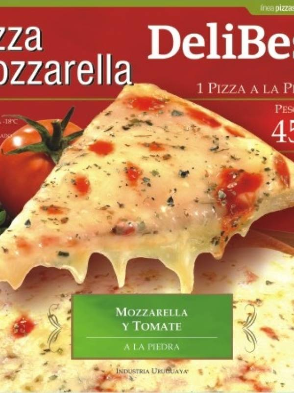 Pizza com MUZZARELLA