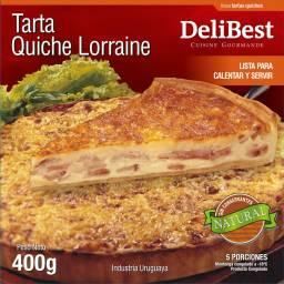 Quiche Lorraine / Tarta Francesa de Queso y Panceta