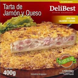 Quiche / Tarta de Jamón y Queso