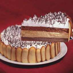 Torta Doble Mousse de Chocolate y Dulce de leche