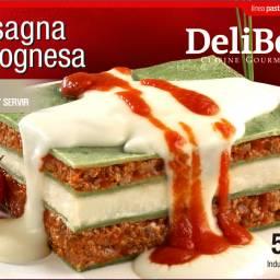 Lasagna Bolognesa de Carne
