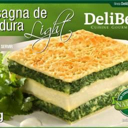 Lasagna de Espinaca Light